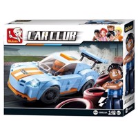 Sluban Car Club Racer bil Leopard