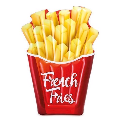 Image of Badedyr, Intex luftmadras, pommes frites (6941057408606)