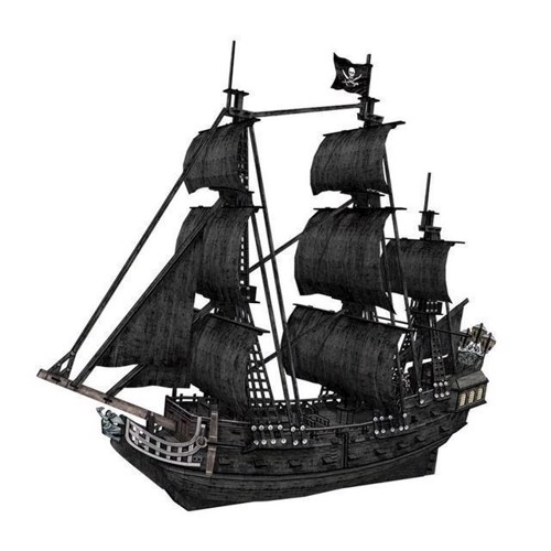 Image of   Puslespil 3D The Queen Annes Revenge, stor