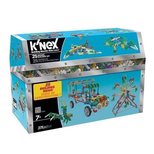 Image of KNex Byggesæt, 25i1 375 dele (744476145765)