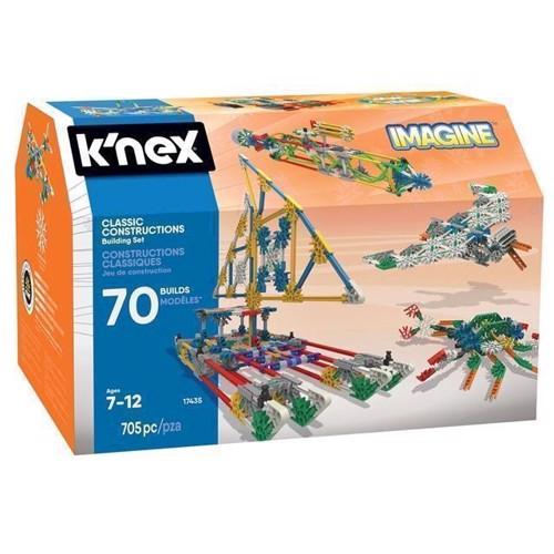 Image of Knex Classic Byggesæt, 705 dele (744476174352)