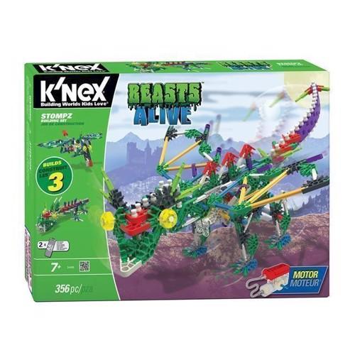 Image of KNex Beasts Alive byggesæt med motor (744476344854)