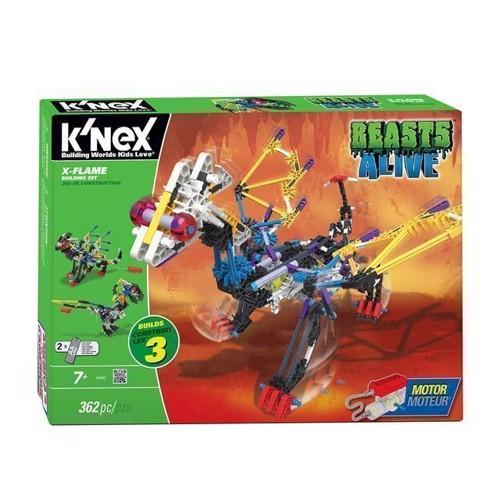 Image of KNex Beasts Alive, X-Flame Byggesæt, 3i1 (744476346926)