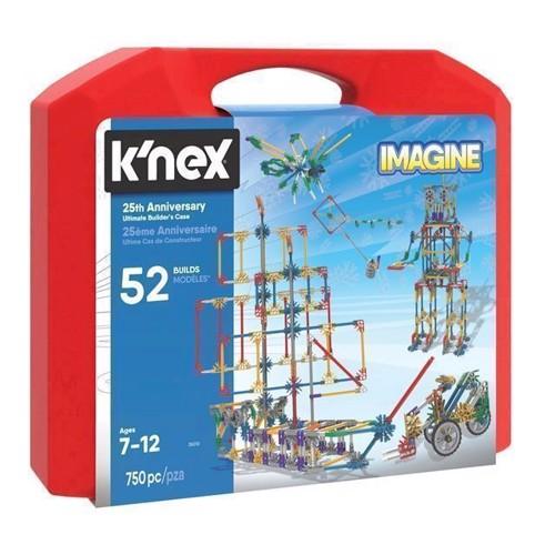 Image of KNex byggesæt, Ultimate bygge kuffert, 750 stk (744476350138)