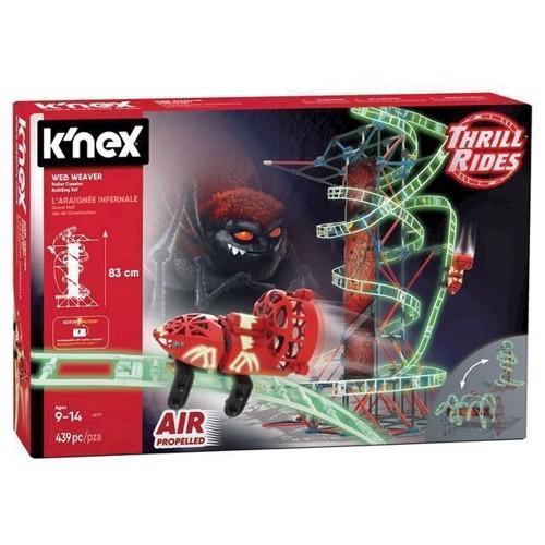 Image of Knex byggesæt Web Weaver Rollercoaster (744476457172)