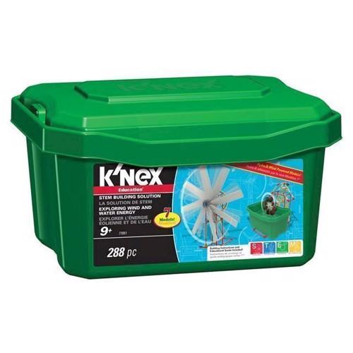 Image of KNex Education Exploring byggesæt, vind og vand energi (744476770516)