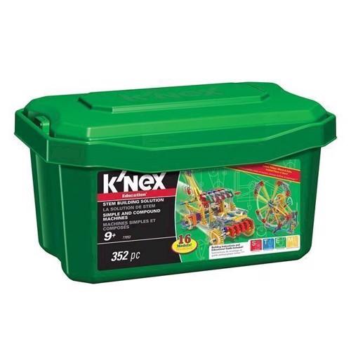 Image of KNex Education byggesæt 16i1, 352 dele (744476770530)