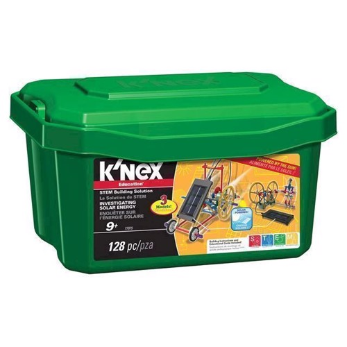 Image of KNex Education byggesæt, solcelle energi (744476770752)