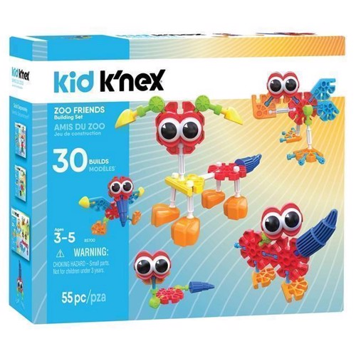 Image of Kid KNex Bbyggesæt, Zoo Friends