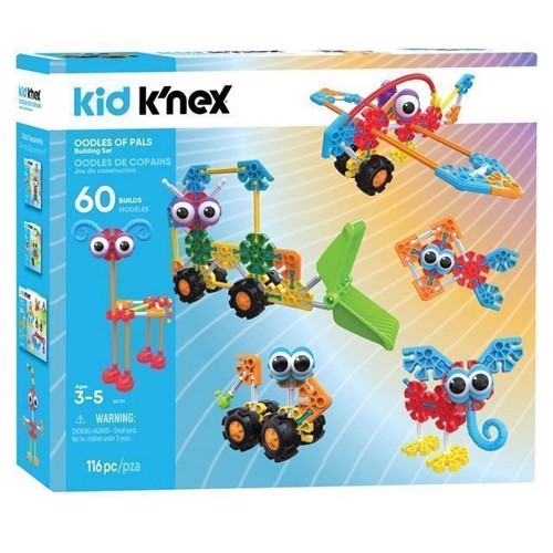 Image of Kid KNex Bbyggesæt, Oodles or Pals (744476857019)