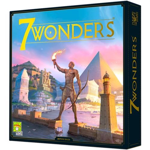 7 Wonders V2 - brætspil (Nordic)