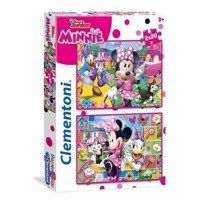 Puslespil med Minnie Mouse, 2x20 brikker