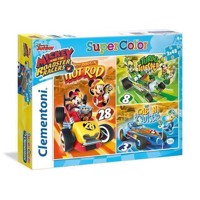 Puslespil Mickey Roadster Racers, 3x48 brikker
