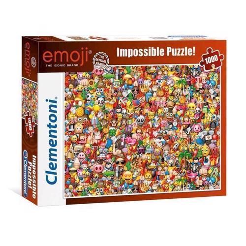 Image of Puslespil Impossible Emoji, 1000 brikker (8005125393886)