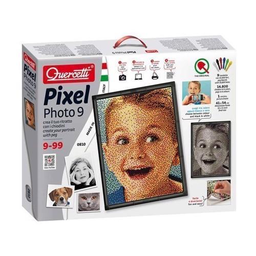 Image of Quercetti, pixel kunst portrætter (8007905008102)