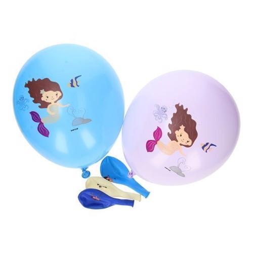 Image of Balloner, 5 stk, Havfrue (8021886321111)