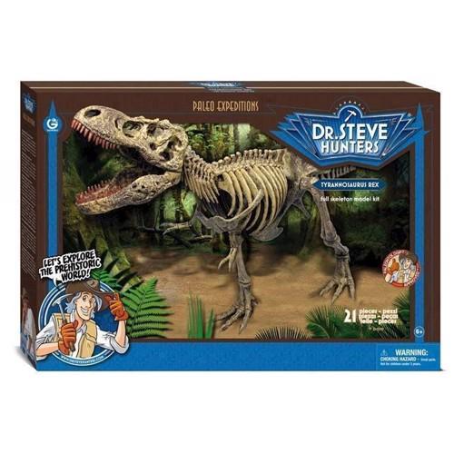 Image of Geoworld Paleo Expedition byggesæt Tyrannosaurus Rex (8033576219745)