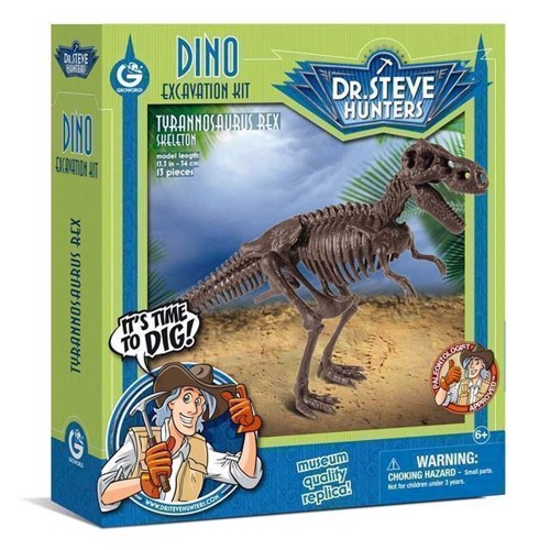 Image of Geoworld Dinosaur udgravning Tyrannosaurus Rex Skelet (8033576219905)