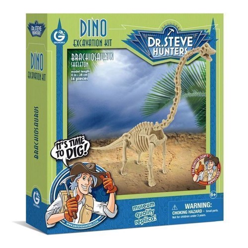 Image of Geoworld Dinosaur udgravning Brachiosaurus Skelet (8033576219929)