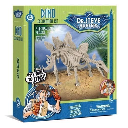 Image of Geoworld Dinosaur udgravning Stegosaurus Skelet (8033576219943)