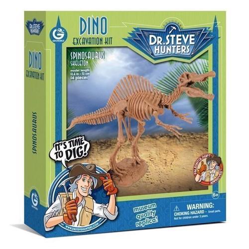 Image of Geoworld Dinosaur udgravning Spinosaurus Skelet (8033576219950)