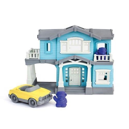 Image of   Green Toys legehus, dukkehus