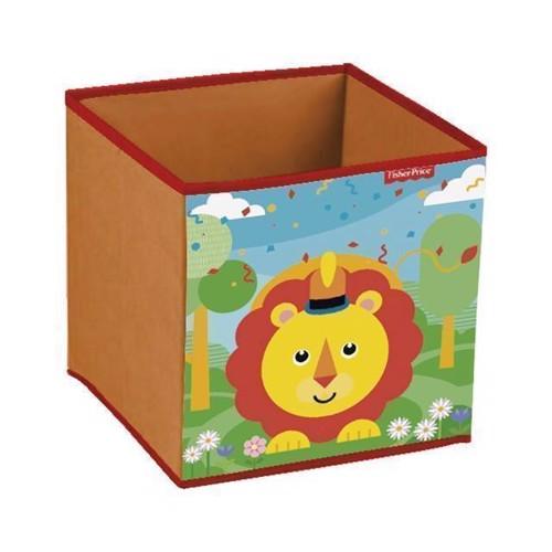 Image of   Fisher Price opbevaringskasse, løve