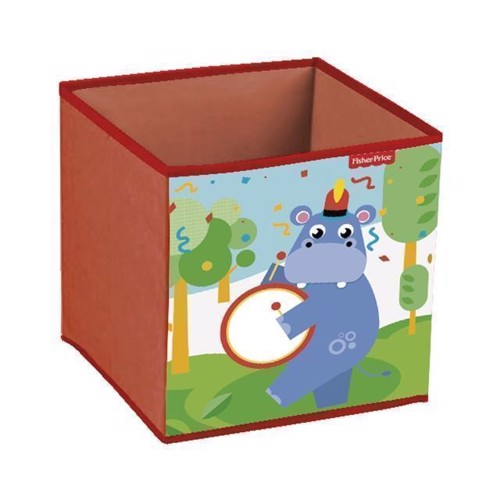 Image of   Fisher Price opbevaringskasse, flodhest