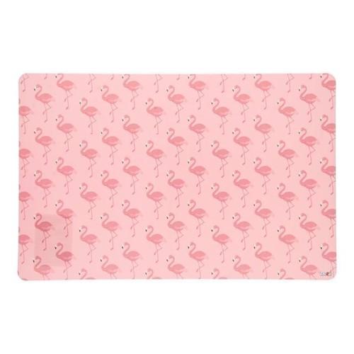 Image of Dækkeserviet, flamingo (8430957501657)