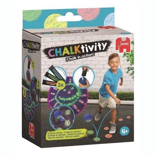 Image of CHALKtivity, kridt hoppebold (8710126195840)