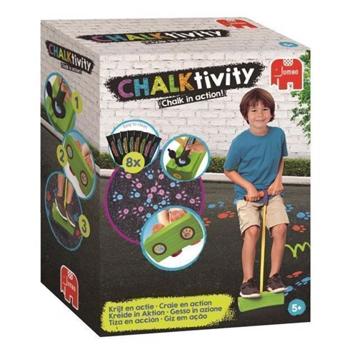 Image of CHALKtivity, hoppestylte med kridt (8710126195871)