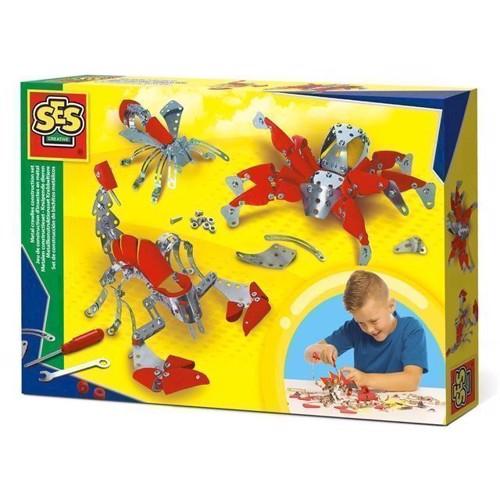 Image of SES metal byggesæt med dyr