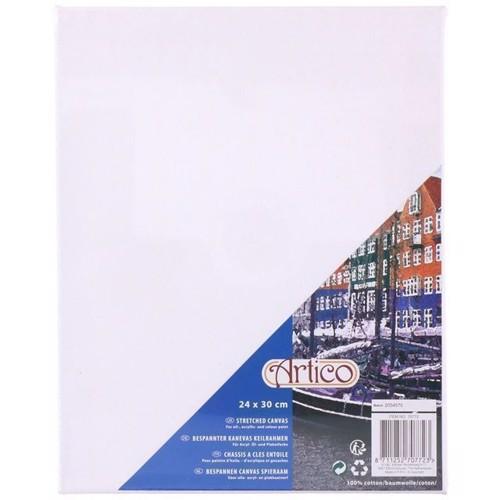 Image of   Canvas lærred på ramme 24 x 30 cm