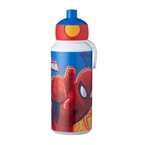 Image of Rosti Mepal Pop-up Ultimate Spiderman Drikkeflaske 400 ml (8711269947181)