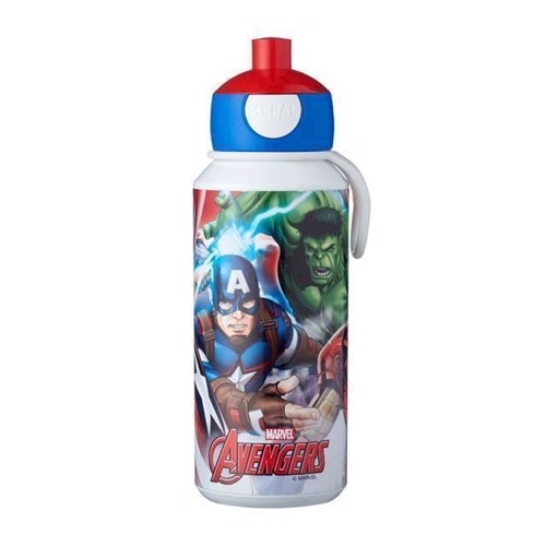 Image of Rosti Mepal Pop-up Avengers Drikkeflaske 400 ml (8711269947211)