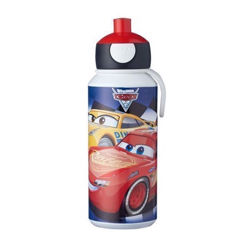Image of Rosti Mepal Pop-up Cars Drikkeflaske 400 ml (8711269947334)