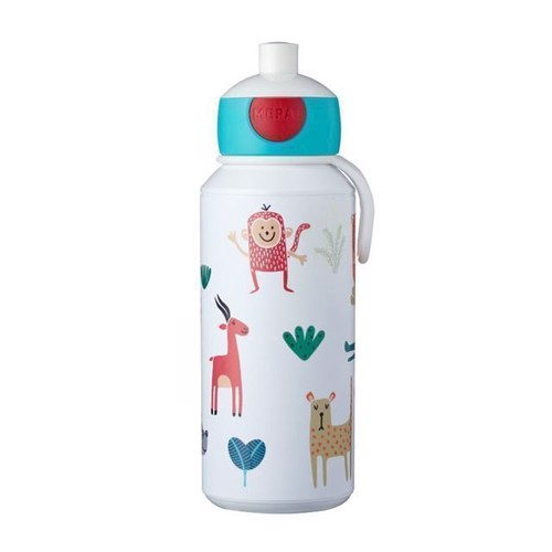 Image of Rosti Mepal Pop-up Animal Friends Drikkeflaske 400 ml (8711269947488)