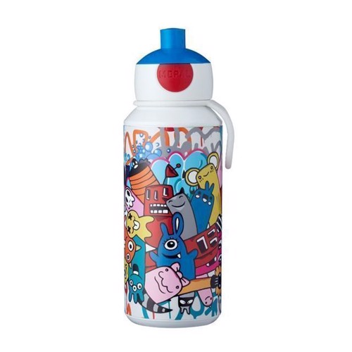 Image of Rosti Mepal Pop-up Graffiti Drikkeflaske 400 ml (8711269947549)