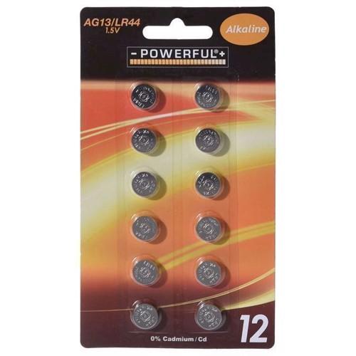 Image of Knapcellebatterier, AG13, 12 stk (8711295031564)