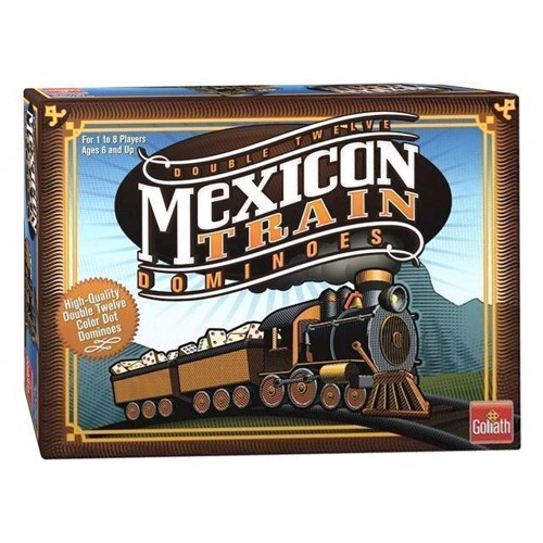 Image of Mexican Train Domino spil