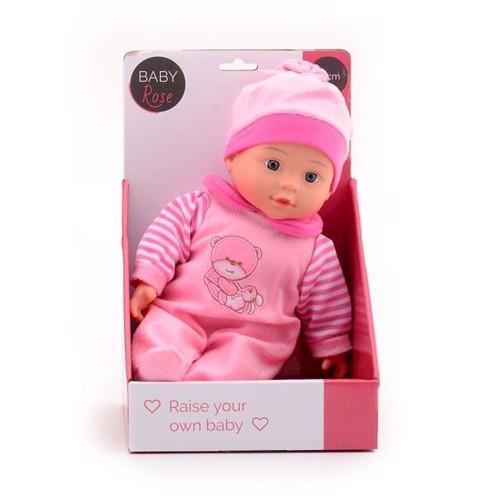 Image of Baby rose dukke 30 cm (8711866275953)