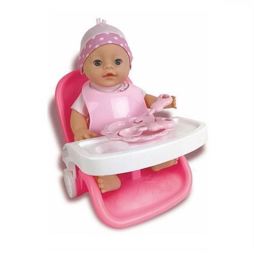 Image of Baby rose 3i1 sæt med dukke 30 cm (8711866275984)