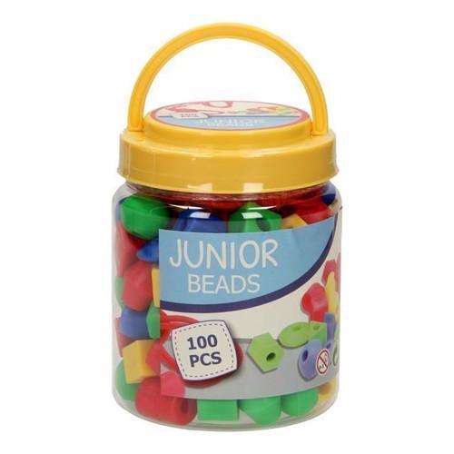 Image of Junior perler i spand 100 dele