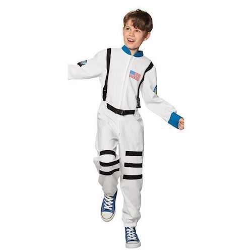 Image of   Børne kostume Astronaut, 7-9 år