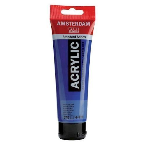 Image of   Amsterdam, akryld maling 120 ml