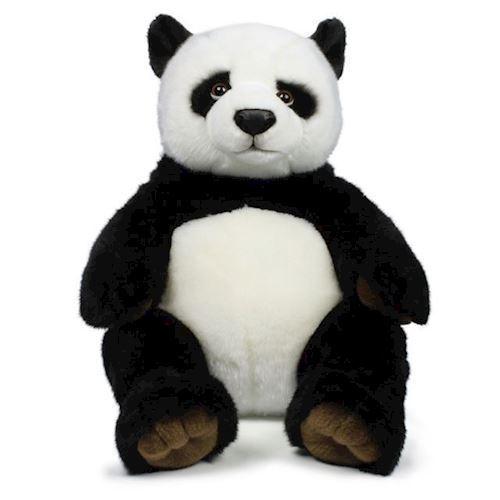 Image of   WWF Bamse - Panda, siddende, 47cm