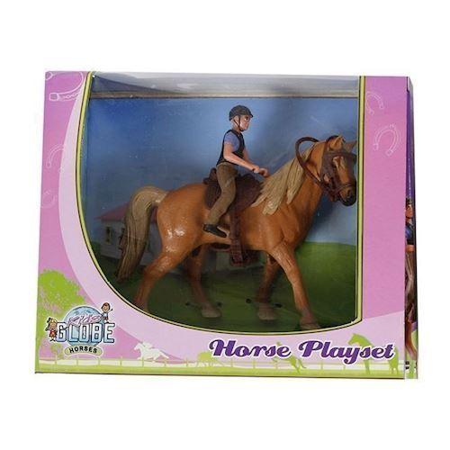 Image of Legesæt med hest og rytter