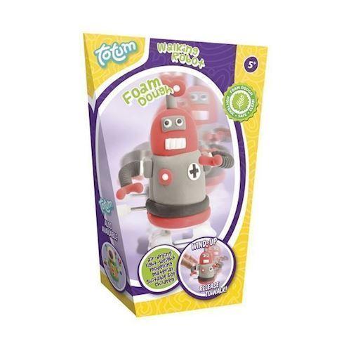 Image of   Totem lav din egen, Modellervoks, gående robot