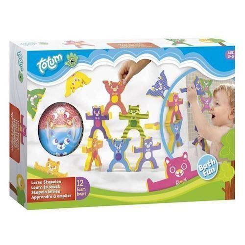 Image of   Totem, lær at stable bade legetøj
