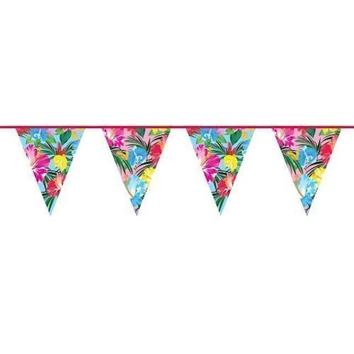 Image of Banner, blomster, 10 m